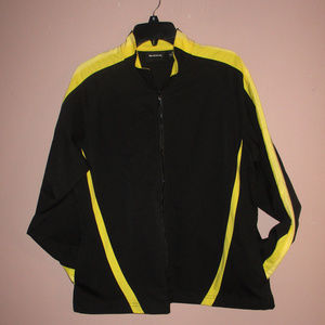 BOLLE Yellow Black Lightweight Windbreaker XL